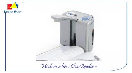 ClearReader+ Machine à lire - avec Batterie