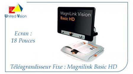 Magnilink Vision Basic - HD - 18 Pouces