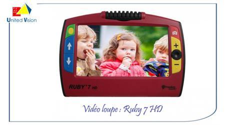 Ruby - Vidéo Loupe Ruby 7 HD