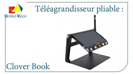 Téléagrandisseur pliable Clover Book