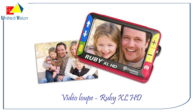 video loupe - Ruby XL HD