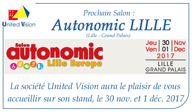 Les actualit s for Salon autonomic lille