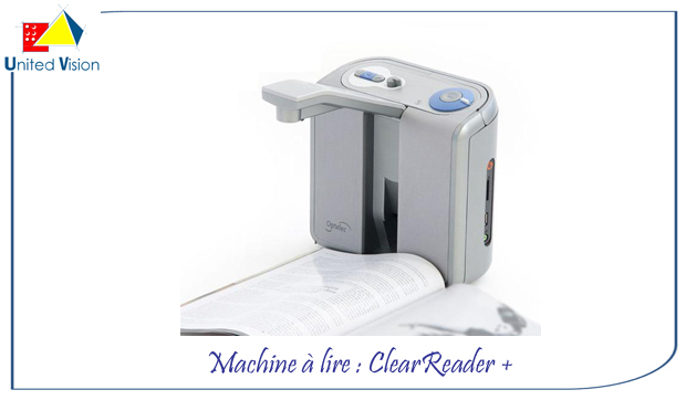 Clearreader plus - machine à lire