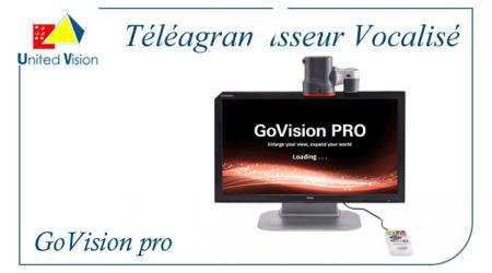 Govision Pro Vocalisé - Téléagrandisseur