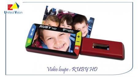Ruby - vidéo loupe HD