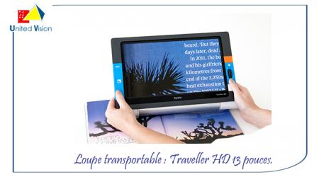 Traveller HD - vidéo loupe transportable
